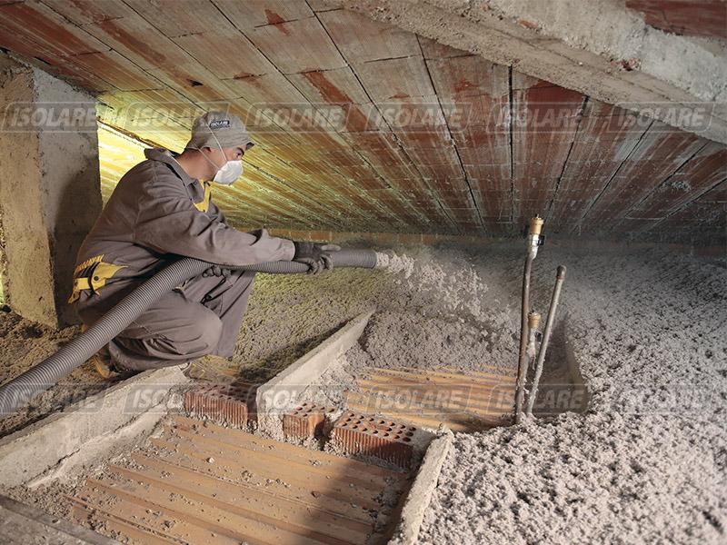 Esempi di isolamento termico tetto e sottotetto