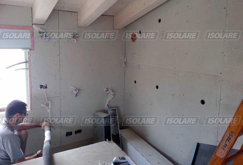 Coibentazione delle pareti senza intercapedini eseguito - Isolare il tetto dall interno ...