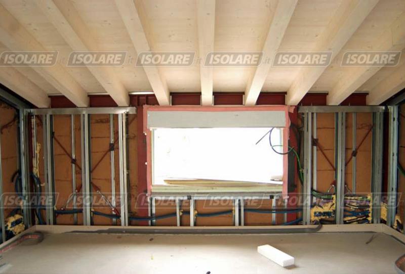 Coibentazione delle pareti senza intercapedini eseguito dall 39 interno - Coibentazione parete interna ...