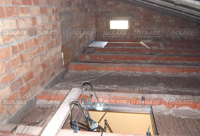 Isolamento e coibentazione con posa tavolato for Aggiungendo una stanza al garage