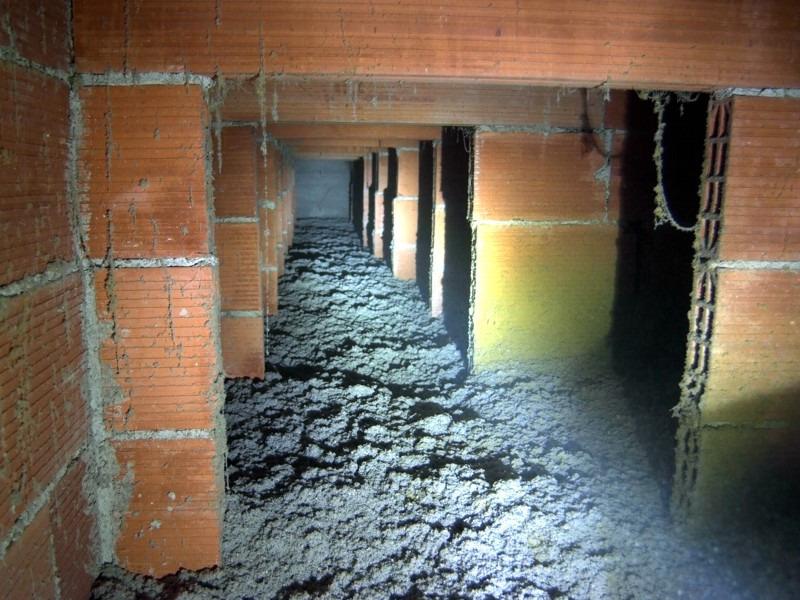 Riqualificazione energetica a treviso da ater - Isolamento termico sottotetto ...